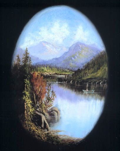 Untitled Mountain Lake Scene