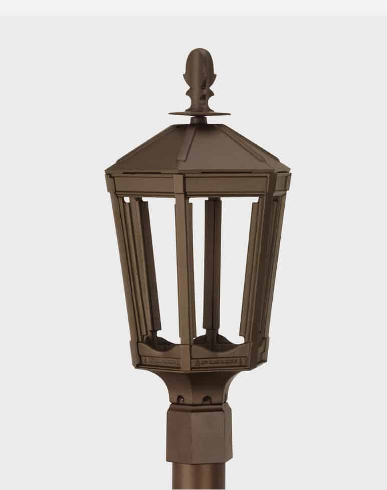 Vienna Gas Lamp Outdoor Post Lighting Lanterns