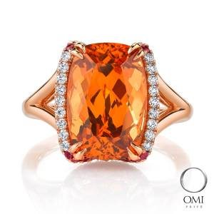 Don't think just red when you think about Garnets!