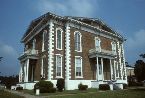 Front Side of the Pickens County Courthouse