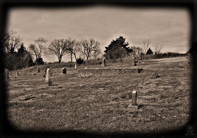 Stull Cemetery Graves
