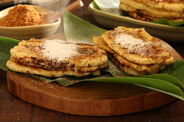 American Griddle Recipe for Plantain Pancakes
