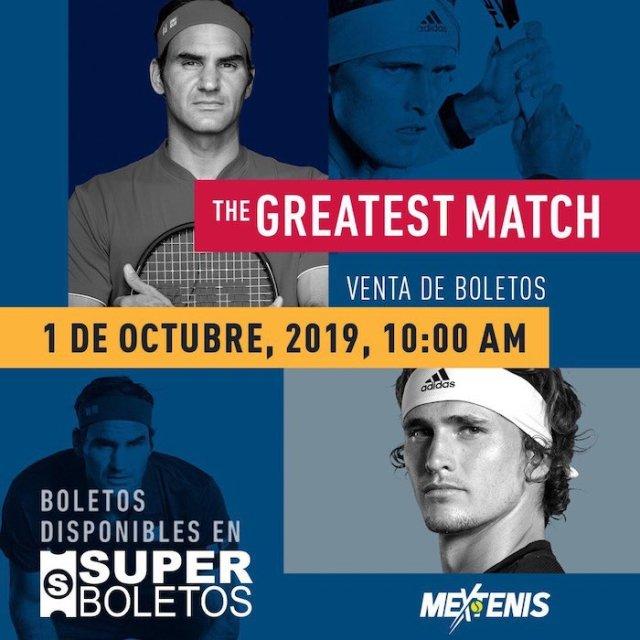 Roger Federer México Superboletos