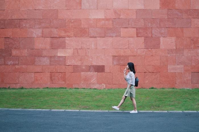 velocidad caminar