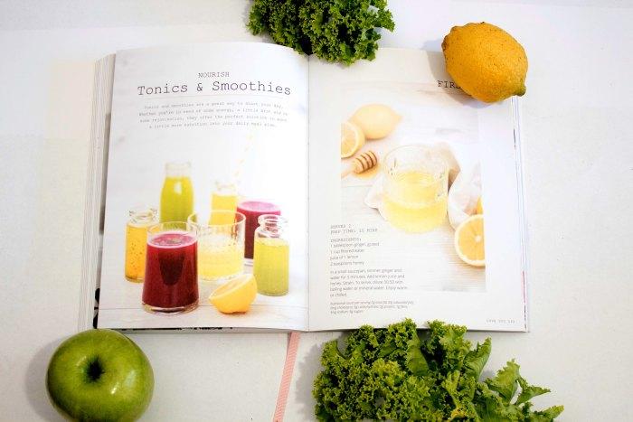 fruta y verdura smoothie