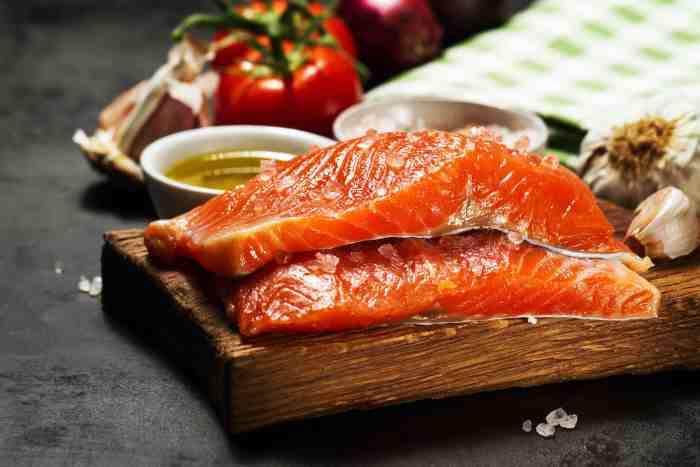 vitamina D presente en salmón