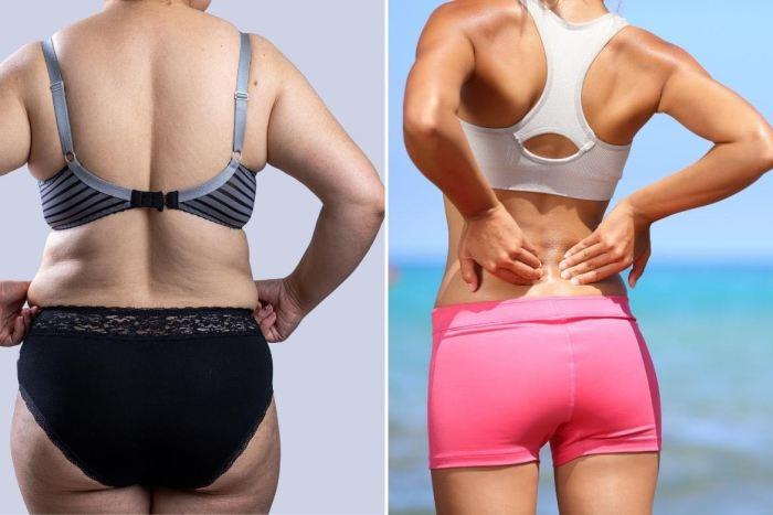 8 Ejercicios para quemar grasa de la espalda y reducir las lonjitas de forma efectiva