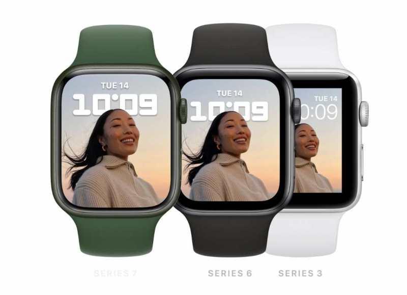 El Apple Watch Series 7 viene con una pantalla de retina más grande, nuevas funciones para el cuidado de la salud y carga más rápida,