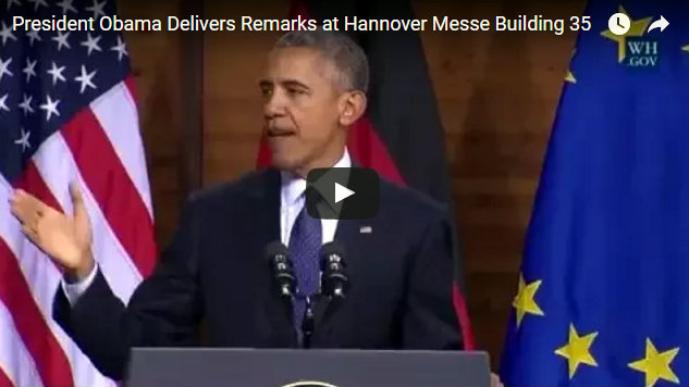 Remarks by President Obama in Address to the People of Europe