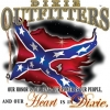 dixie outfitters our heart is in dixie