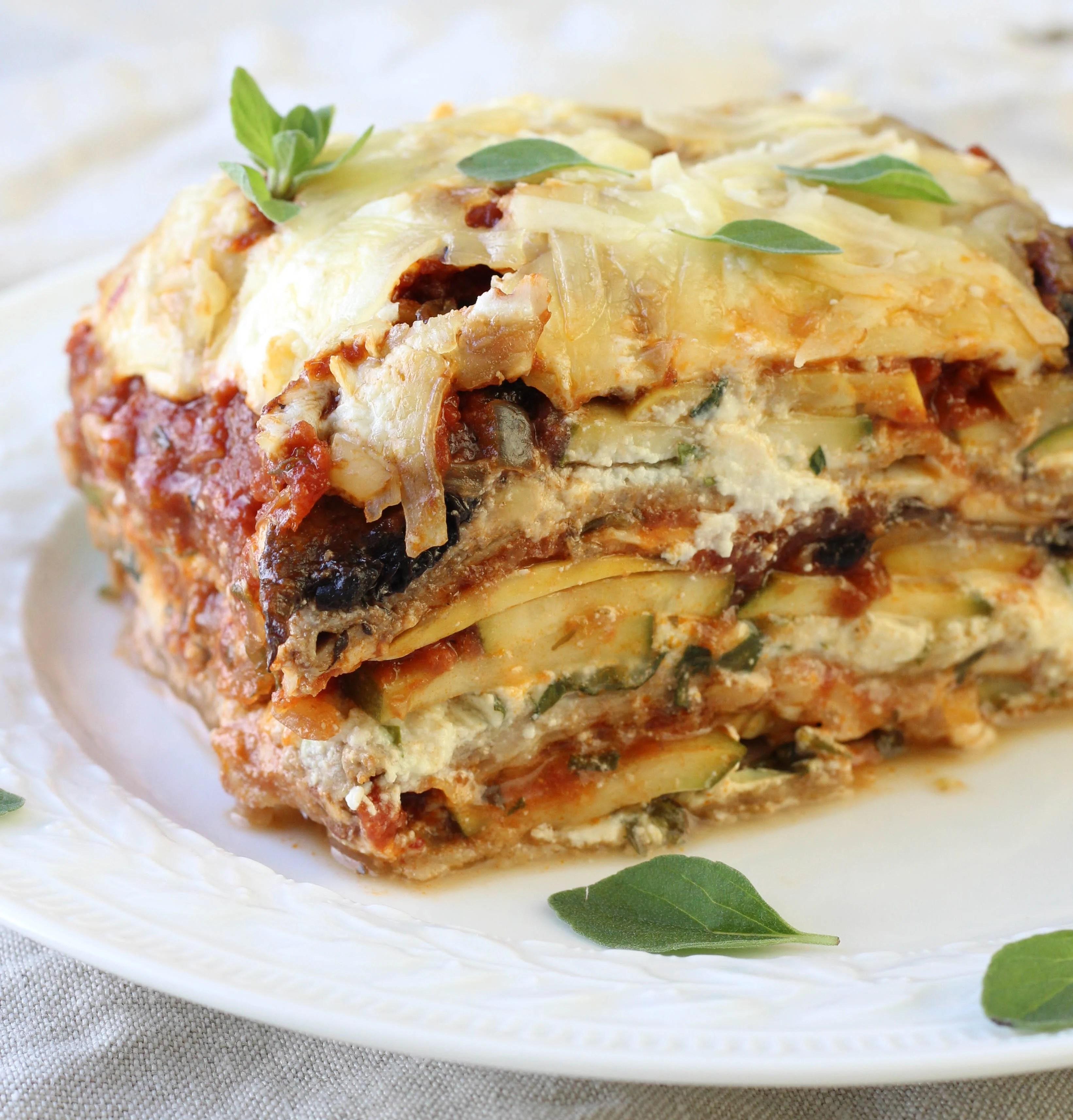 WholeWheat Vegetable Lasagna  American Heritage Cooking