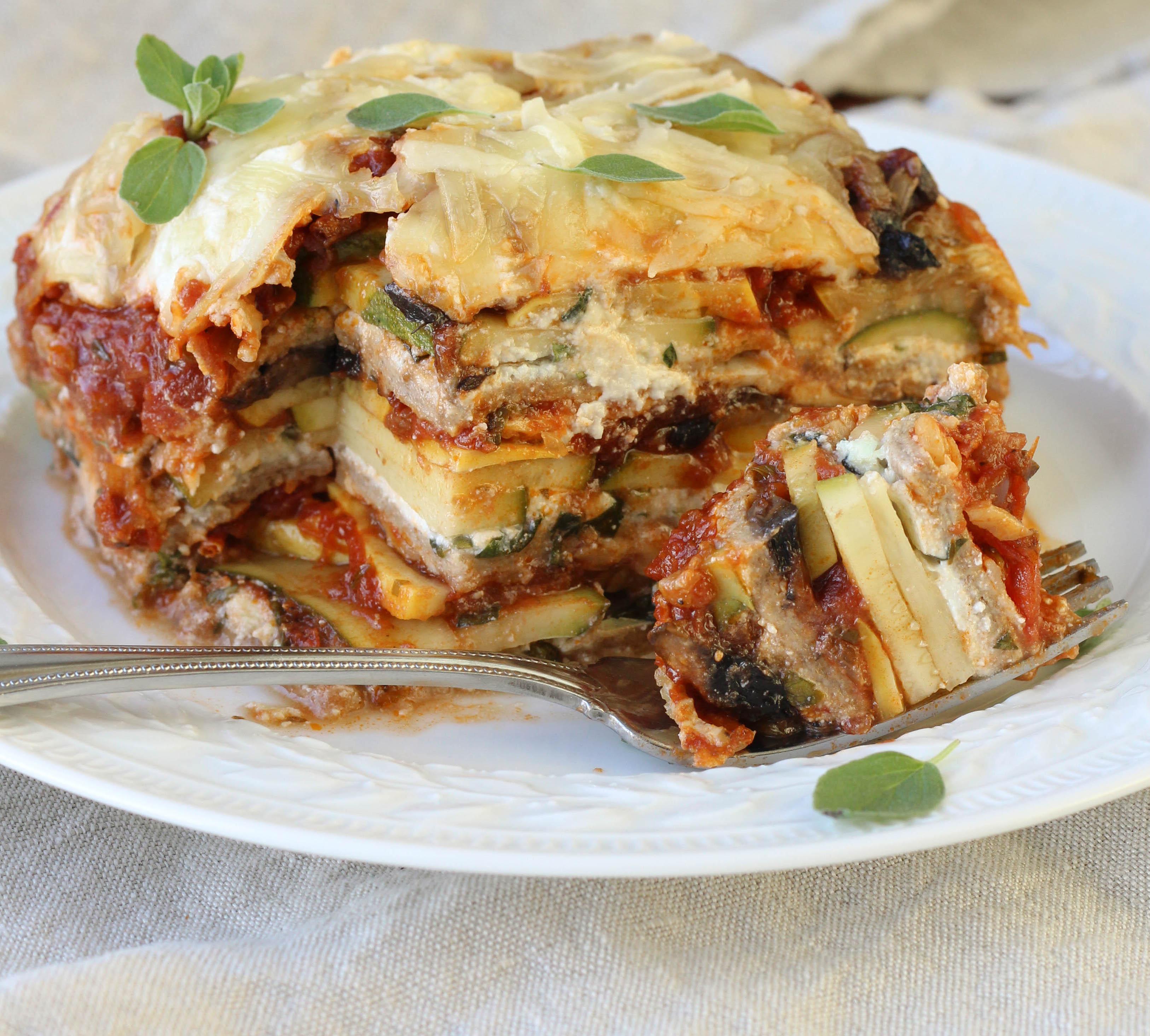 Vegetable Lasagna Healthy