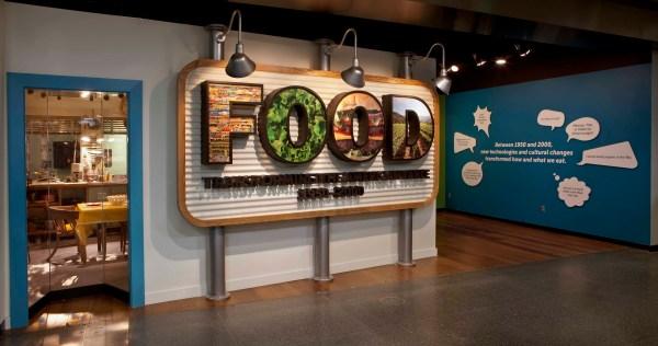 American Museum of Natural History Food Exhibit