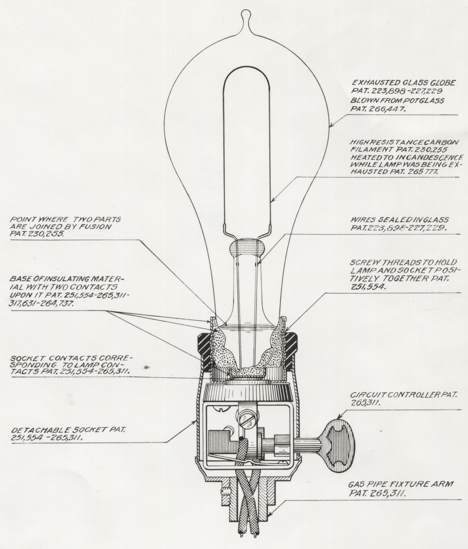 hight resolution of edison s light bulb turns 135