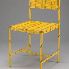 How Are Chairs Made Computer For Sale Reinventing The Chair A Pencil Sketch In Three Dimensions Of 50 Yellow Pencils