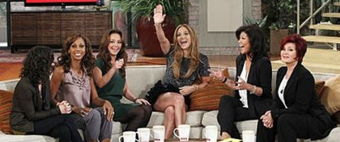 Jennifer Lopez on The Talk