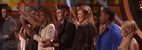 American Idol 2012 Top 11 elimination