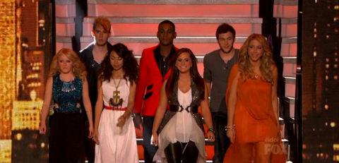 American Idol 2012 Top 7