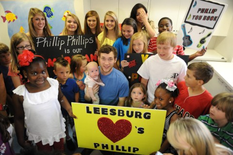American Idol 2012 Phillip Phillips hometown