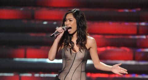Jessica Sanchez on American Idol 2012