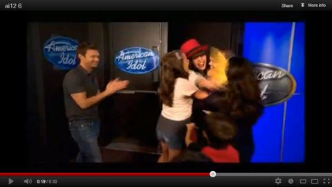 Idol 2013 auditions capture
