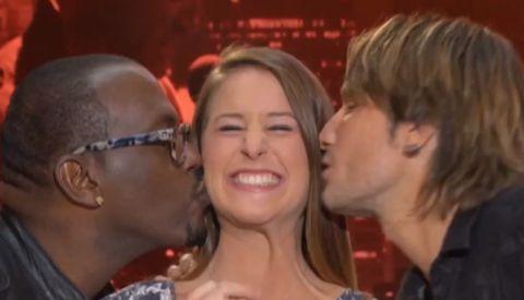 American Idol 2013 judges and Hopeful