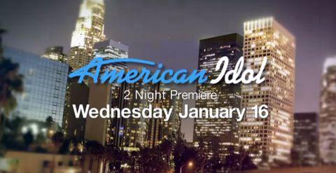 American Idol 2013 January Premiere