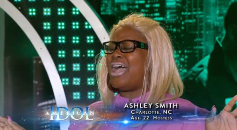 Ashley Smith audition on American Idol 2013