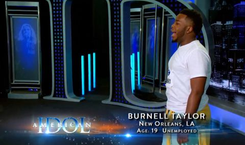 Burnell Taylor auditions on Idol