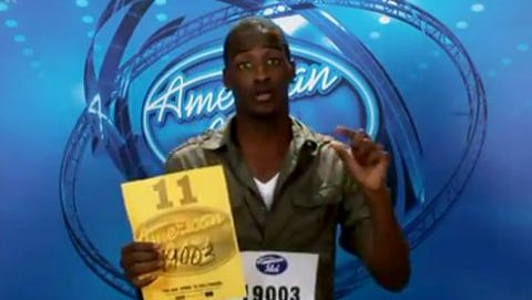 Cortez Shaw on American Idol