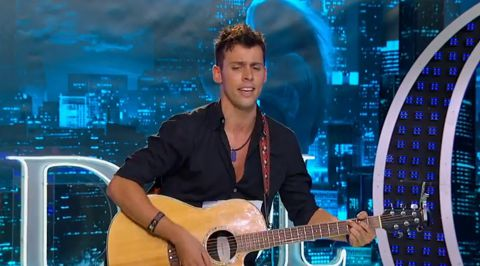 Evan Ruggiero on American Idol 2013