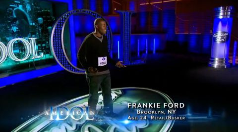 Frankie Ford auditions on American Idol 2013