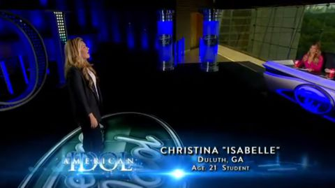 Isabelle Pasqualone audition on American Idol 2013