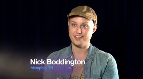 Nick Boddington on American Idol