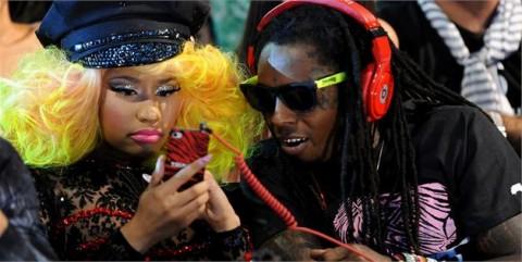 Nicki and lil wayne american idol