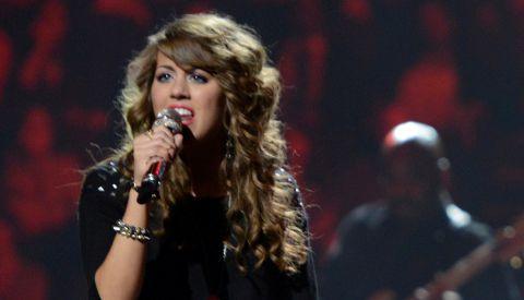 Angela Miller on American Idol 2013 in Las Vegas