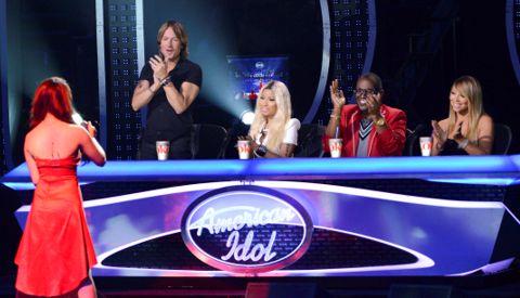American Idol 2013 girls in Las Vegas