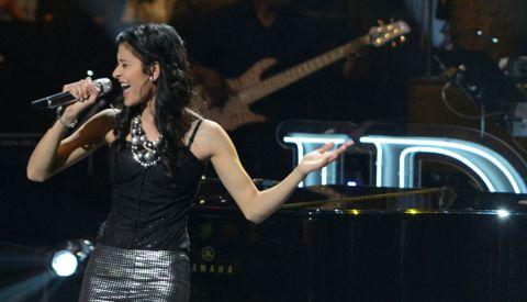 Shubha Vedula on American Idol 2013 in Las Vegas