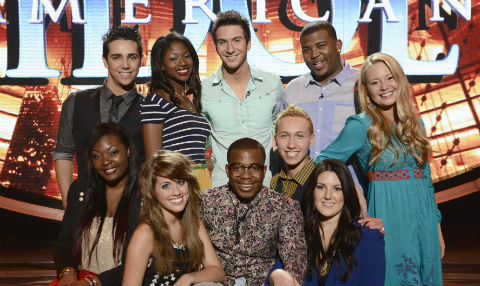 American Idol Season 12 Top 10 Contestants