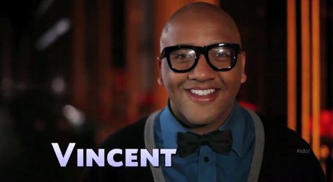 Vincent Powell on American Idol