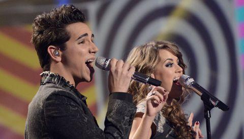 Angie Miller & Lazaro Arbos - American Idol 2013