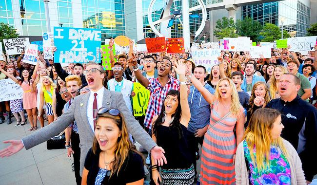 American Idol 2014 Auditions Omaha Nebraska (18)