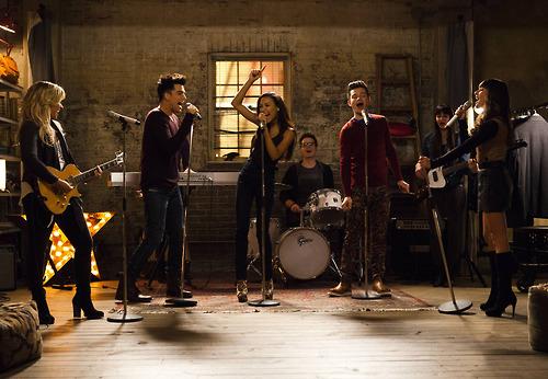 Adam Lambert on Glee 6
