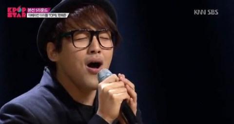 Heejun Han on K-Pop Star 3 - Source: KNN SBS