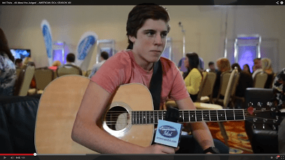 Sam Woolf American Idol 2014