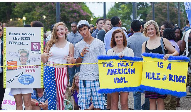 American Idol Austin Auditions