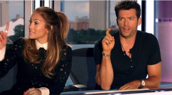 American Idol Judges Jennifer Lopez and Harry Connick Jr. - Source: FOX/YouTube