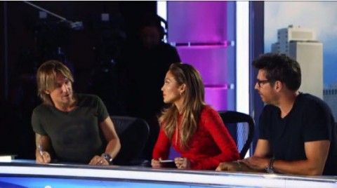 American Idol Judges Keith Urban, Jennifer Lopez, and Harry Connick Jr. - Source: FOX/YouTube