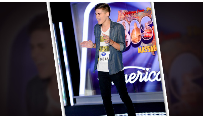Austin Percario American Idol 2014 Audition Boston