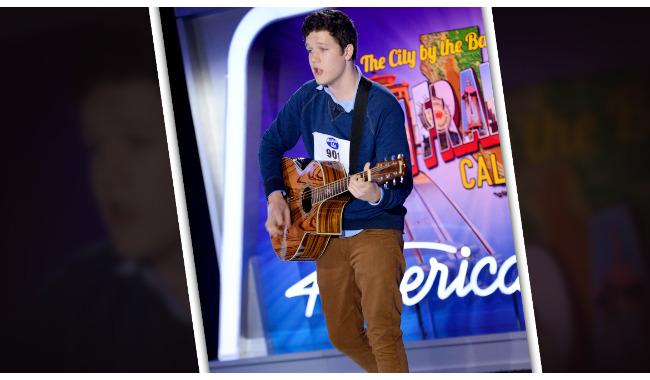 Caleb Hartsfield American Idol 2014 Audition San Francisco